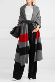 Tomas Maier Striped wool wrap