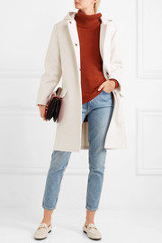 Tomas Maier Hooded wool-blend coat