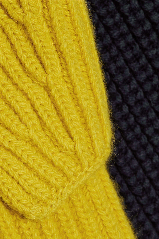 CALVIN KLEIN 205W39NYC Cutout wool sweater