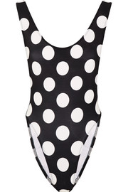 Marissa polka-dot swimsuit