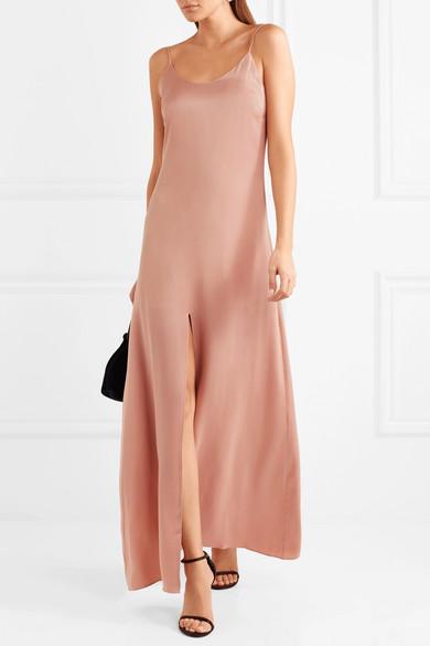 Eliza Washed-silk Maxi Dress - Pink Alice & Olivia cbcbx4TFdI