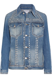 Le Studded denim jacket