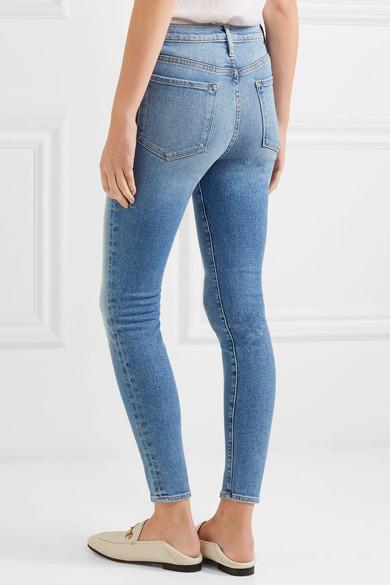 Frame Ali High Rise Skinny Jeans Net A Porter Com