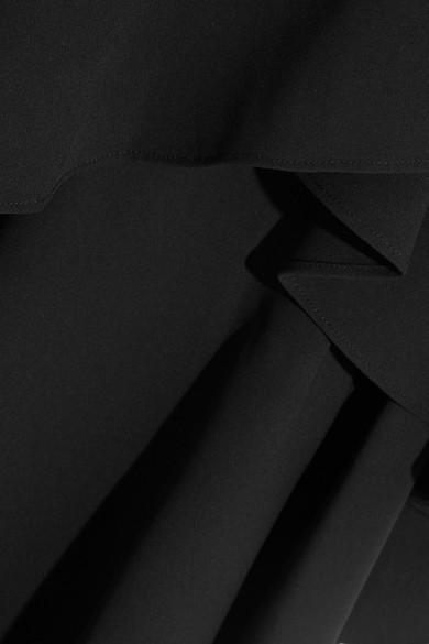 Alice + Olivia Martina asymmetrischer Maxirock aus Crêpe mit Volants Billig Offiziellen Spielraum Eastbay Preise Und Verfügbarkeit Für Verkauf Bester Verkauf Günstiger Preis kWjZGkN1n