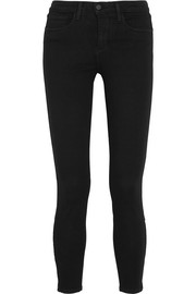 Andrea cropped high-rise skinny jeans