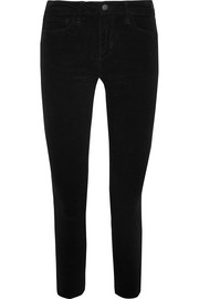 The Margot high-rise corduroy skinny pants