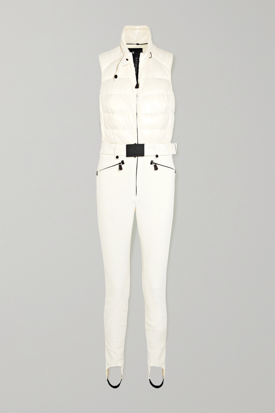 Moncler Grenoble Belted quilted ski suit