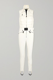023ad63029 Moncler Grenoble - Belted quilted ski suit