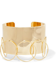 Arme De L'Amour Halo gold-plated cuff