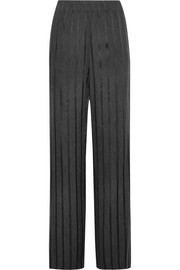 Alexander Wang Striped woven wide-leg pants