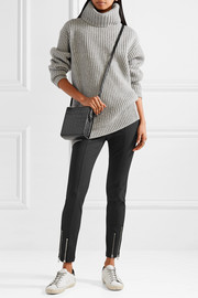 T by Alexander Wang Stretch-twill tapered pants