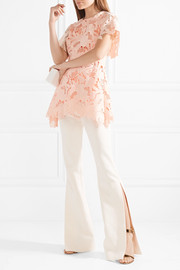 Lela Rose Guipure lace top