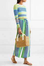 Diane von Furstenberg Striped linen-blend pants