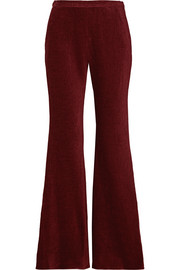 Rosetta Getty Chenille flared pants