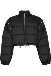 3.1 Phillip Lim Cropped quilted shell jacket