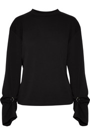 3.1 Phillip Lim Embellished cotton-jersey top