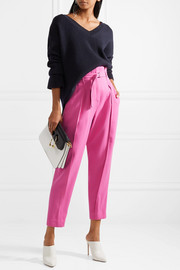 3.1 Phillip Lim Belted crepe tapered pants