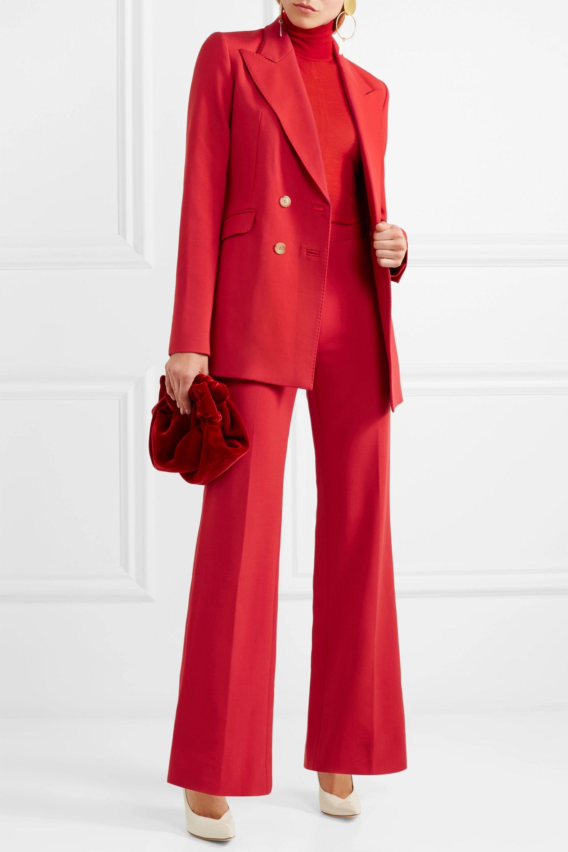 Gabriela Hearst Vesta wool-blend flared pants