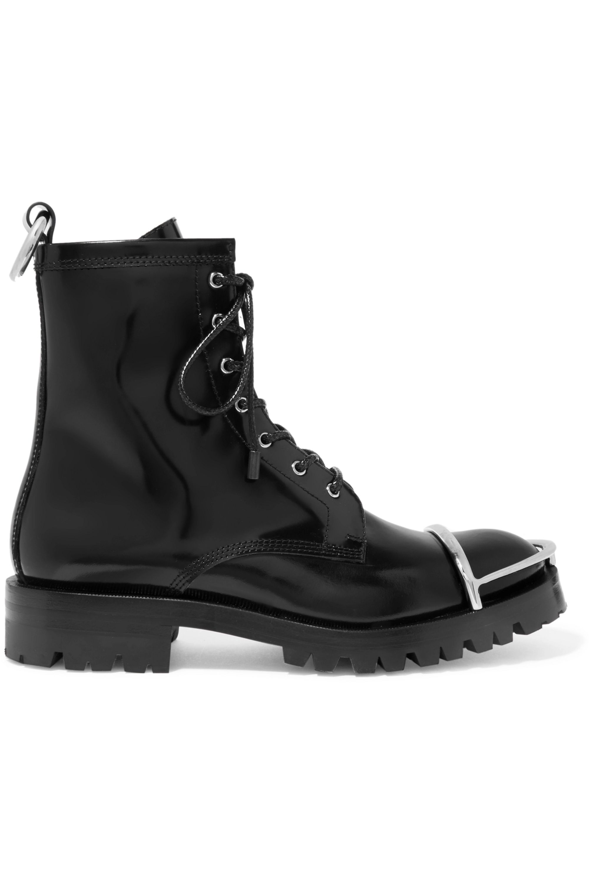 Alexander Wang Lyndon embellished leather ankle boots