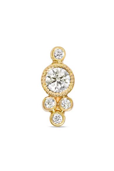 Maria Tash - 18-karat Gold Diamond Earring