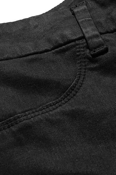 J Brand Anja eng geschnittene Hose aus Stretch-Twill