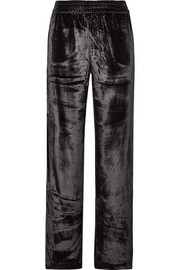 Ardon velvet wide-leg pants