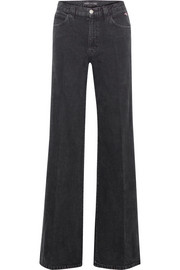 + Bella Freud Jane high-rise wide-leg jeans