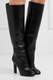 Victoria Beckham Leather knee boots