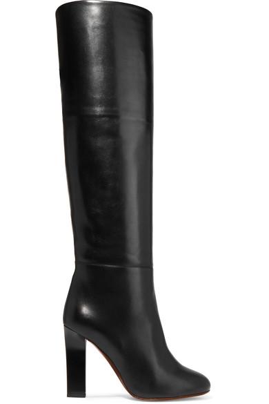 Victoria Beckham Kniehohe Stiefel aus Leder