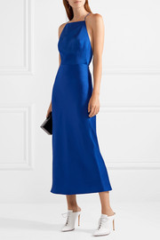 Jason Wu Satin-crepe midi dress