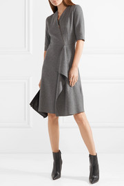 Tomas Maier Draped felt dress