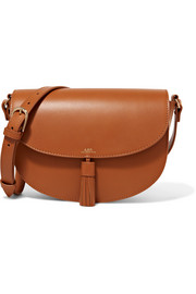 Diane tasseled leather shoulder bag