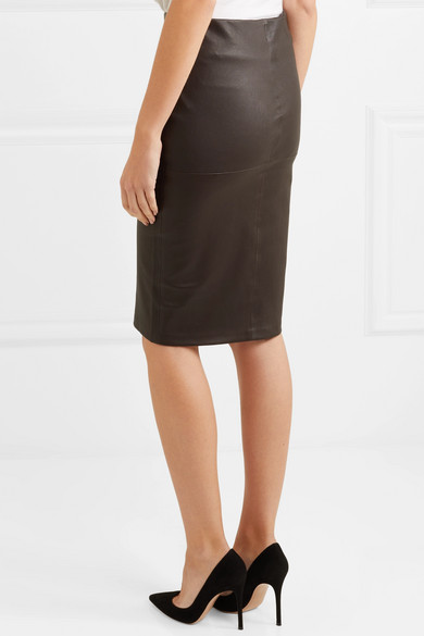 aae578aec1 By Malene Birger. Floridia stretch-leather midi skirt. £245. Play. Zoom In
