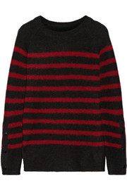 Iwannio striped knitted sweater