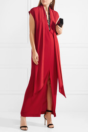 By Malene Birger Lappi crystal-embellished crepe maxi dress