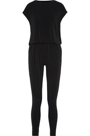 Emin cutout stretch-crepe jumpsuit