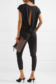 By Malene Birger Emin cutout stretch-crepe jumpsuit