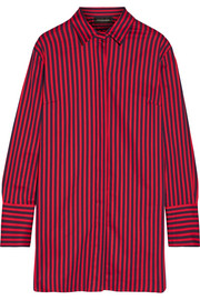 By Malene Birger Frincamma striped stretch-cotton shirt