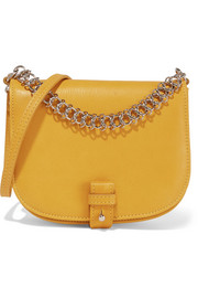 Saddle Up small textured-leather shoulder bag