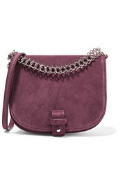 Little Liffner Saddle Up small suede shoulder bag