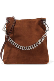 Little Liffner Candybag suede shoulder bag