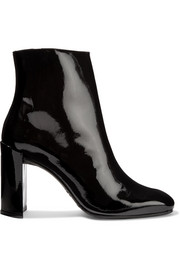 Vigor patent-leather ankle boots