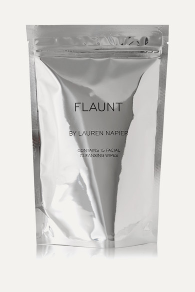 The Flaunt Package - Facial Cleansing Wipes X 15 in Colorless