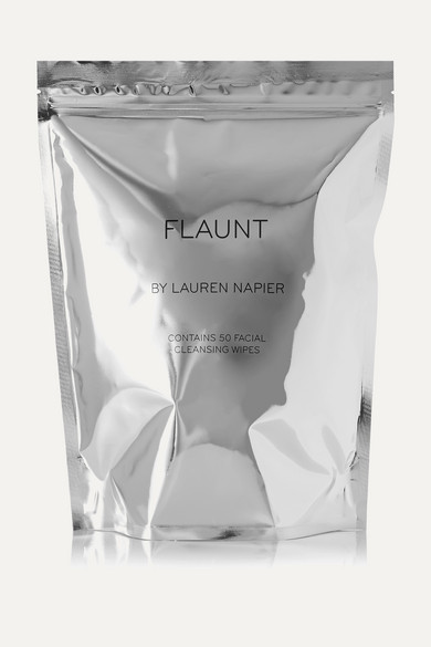 The Flaunt Package - Facial Cleansing Wipes X 50 in Colorless
