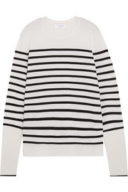 AAA striped cashmere sweater