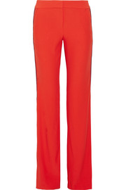 La Ligne Pipeline striped crepe flared pants