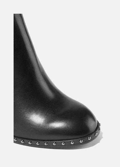 rag & bone Romi Ankle Boots aus Leder mit Nieten