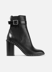 Romi studded leather ankle boots
