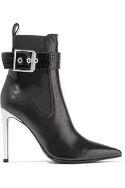 rag & bone Wren buckled leather ankle boots