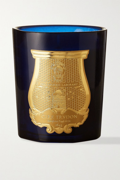 Madurai Scented Candle, 270G in Blue
